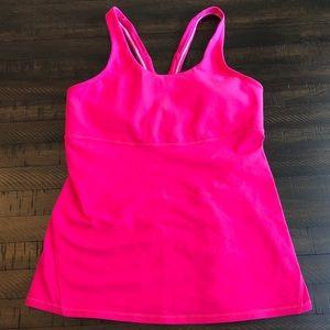 LULULEMON Hot Pink Tank - Size 10